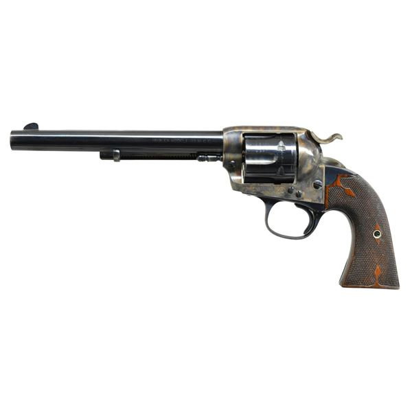 PRE-WAR COLT SINGLE ACTION BISLEY REVOLVER.