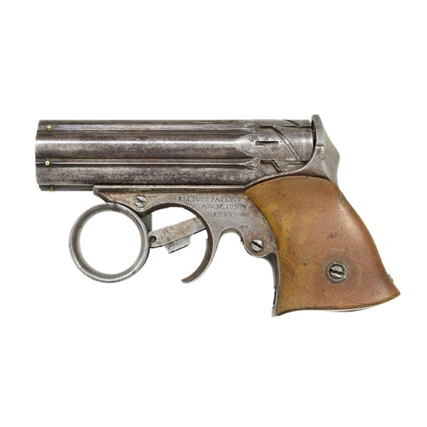 "REMINGTON-ELLIOT'S PATENT ""ZIG-ZAG"" DERRINGER."