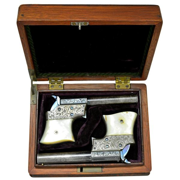 EXTREMELY RARE EXPOSITION CASED & ENGRAVED