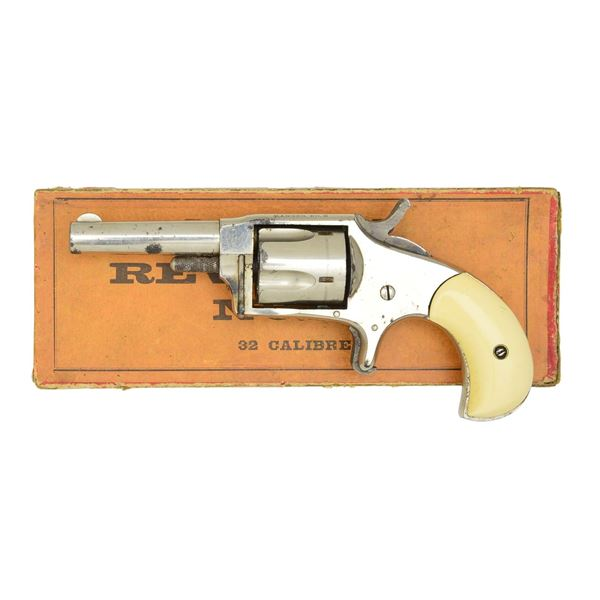 IVORY GRIPPED H&A RANGER REVOLVER NO. 2 IN