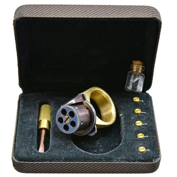 LE PETIT STYLE PINFIRE PEPPERBOX RING GUN.