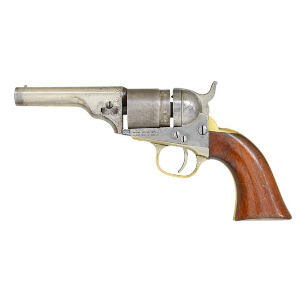 "COLT 3 1/2"" CARTRIDGE REVOLVER."