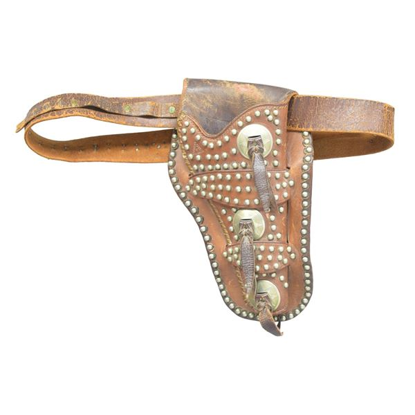 R.T. FRAZIER MEXICAN DOUBLE LOOP HOLSTER.