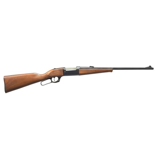 SAVAGE 99-A SADDLE GUN LEVER ACTION RIFLE.