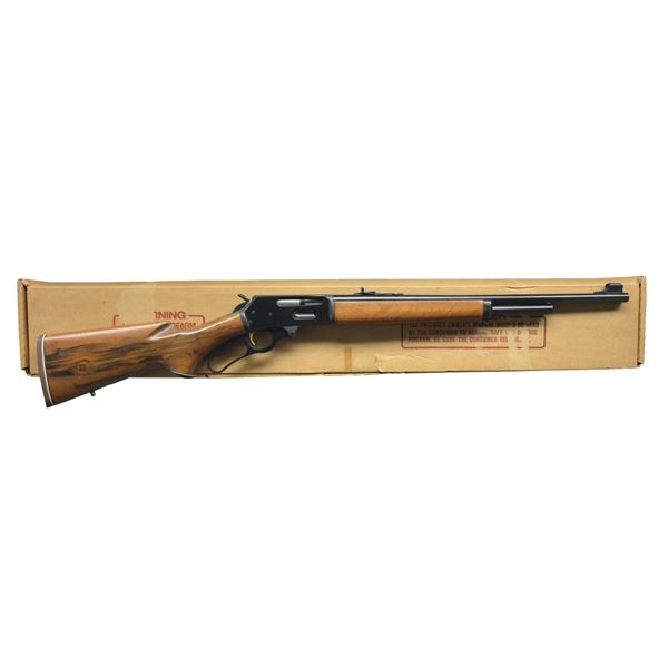MARLIN MODEL 375 LEVER ACTION RIFLE.