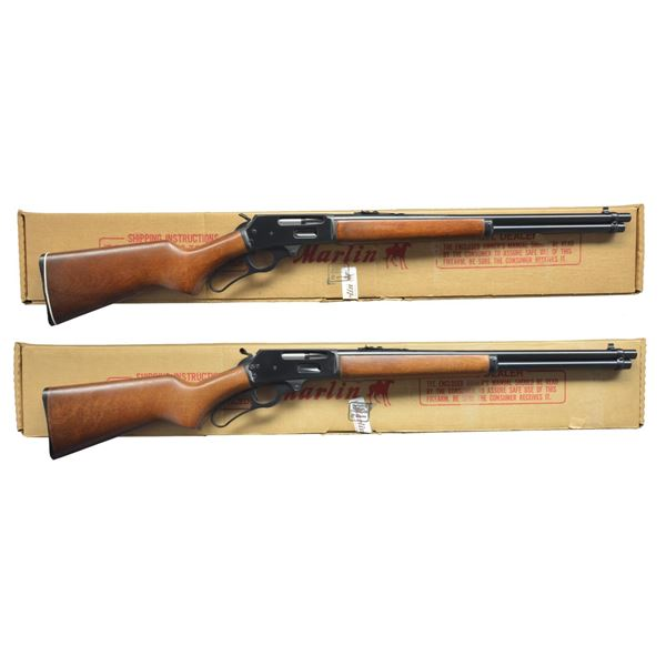MARLIN MODEL 30A & 30AS LEVER ACTION CARBINES.