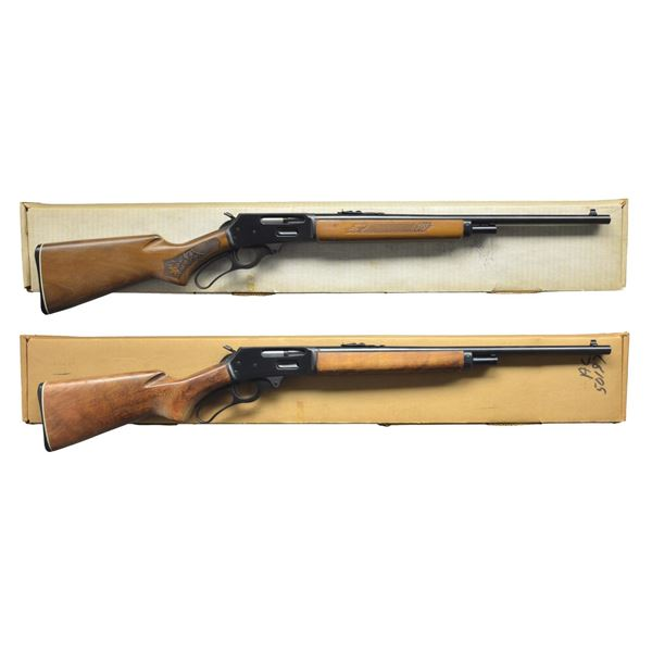 2 MARLIN GLENFIELD MODEL 30 LEVER ACTION CARBINES.