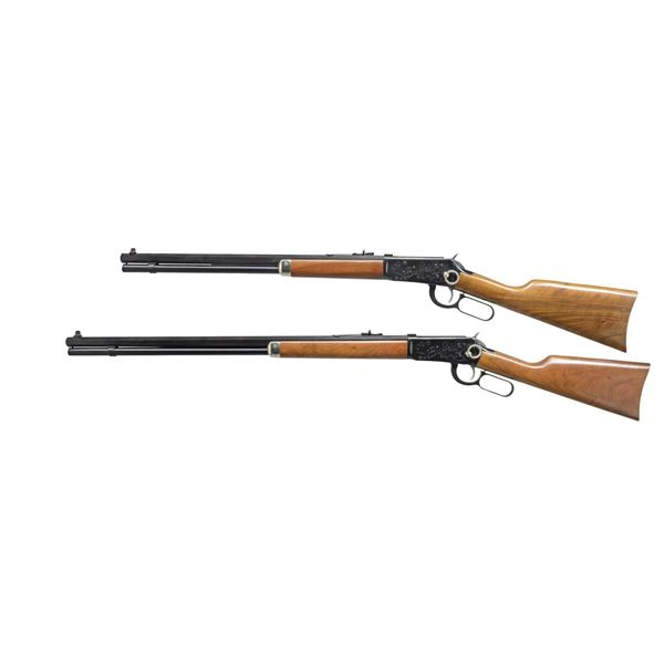 CONSECUTIVE PAIR OF WINCHESTER BUFFALO BILL