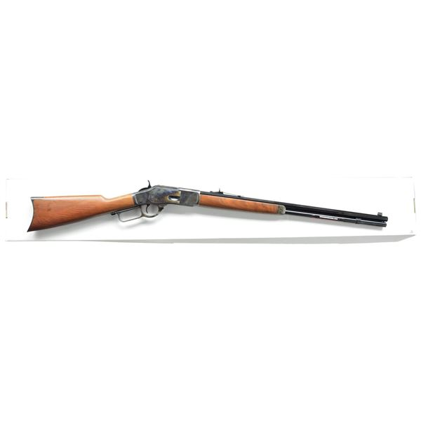 WINCHESTER MODEL 1873 SPORTER LEVER ACTION RIFLE.