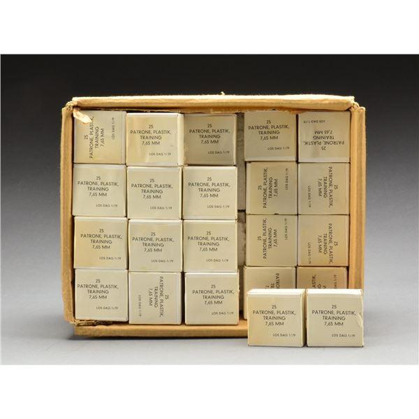 90+ BOXES OF 7.65MM / 32 ACP TRAINING AMMUNITION.