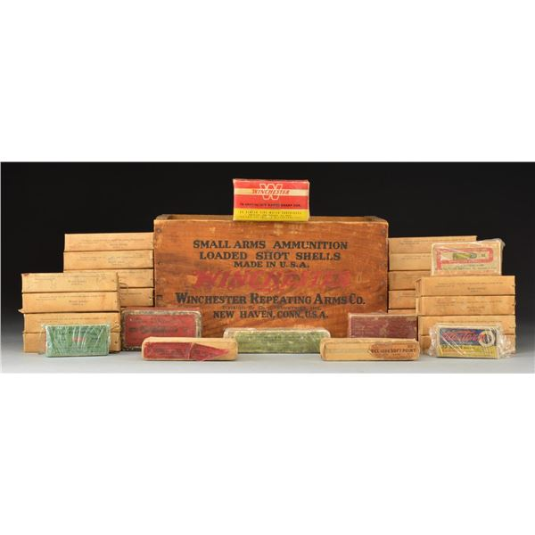 ANTIQUE MILITARY & SPORTING, RIFLE & PISTOL AMMO