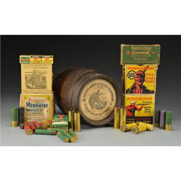 LOT OF COLLECTIBLE AMMO.