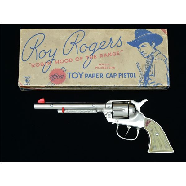 """RARE & EXTREMELY FINE ROY ROGERS """"LONG TOM"""" CAST"""