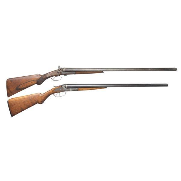 W. RICHARDS & BAKER SXS SHOTGUNS.