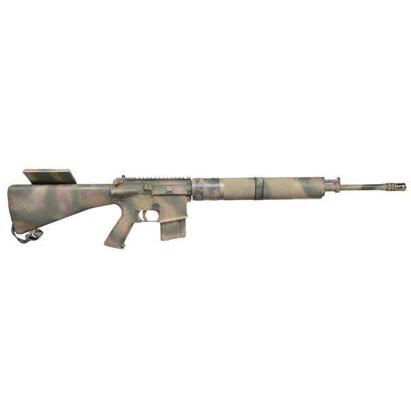 HIGHLY CUSTOMIZED COLT AR-15 SP1 RIFLE.