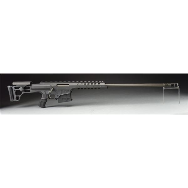 BARRETT M98B 338 LAPUA MAGNUM RIFLE IN CASE.