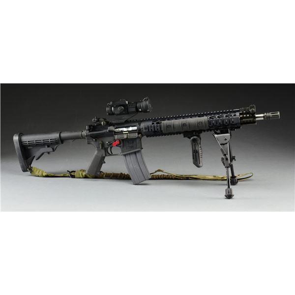 5.56 MM FMK AR-15 STYLE CARBINE & ACCESSORIES.