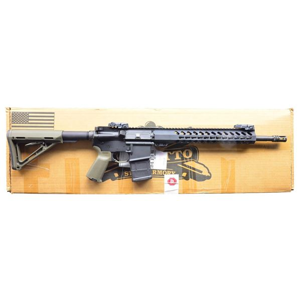 PALMETTO STATE ARMORY PA15 RIFLE WITH KEYMOD RAIL.