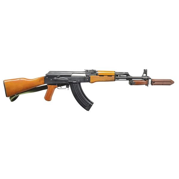TYPE 56S UNMARKED EARLY IMPORTED AK TYPE RIFLE.