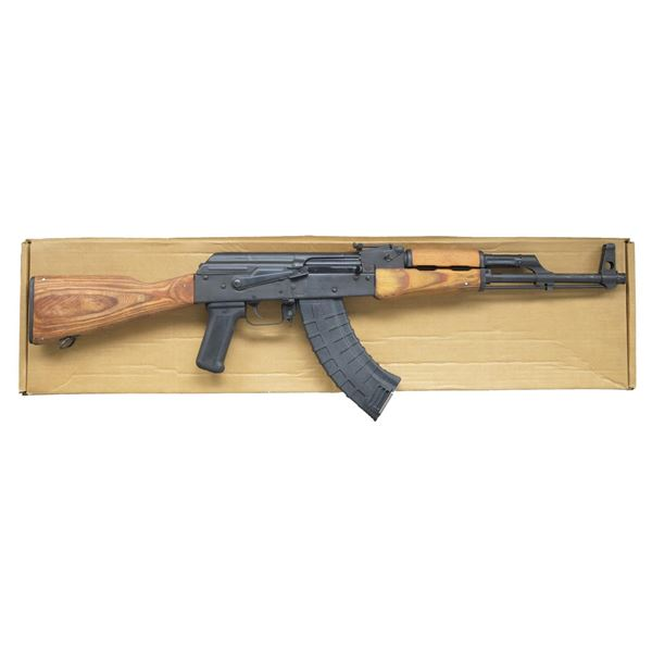 ROMANIAN WASR-10 WITH SIGNATURE LAMINATED WOOD.