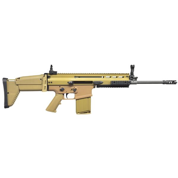 EXTREMELY DESIREABLE FDE SCAR 17S RIFLE.