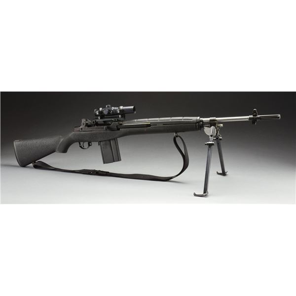 SPRINGFIELD US RIFLE M1A WITH STAINLESS BARREL