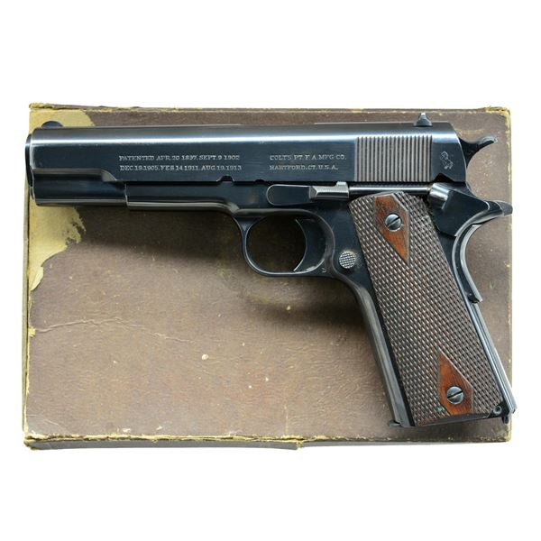 COLT 1911 GOVERNMENT COMMERCIAL MODEL SEMI AUTO