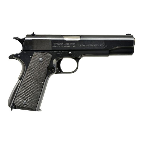 COLT ARGENTINE NAVY CONTRACT 1911A1 SEMI