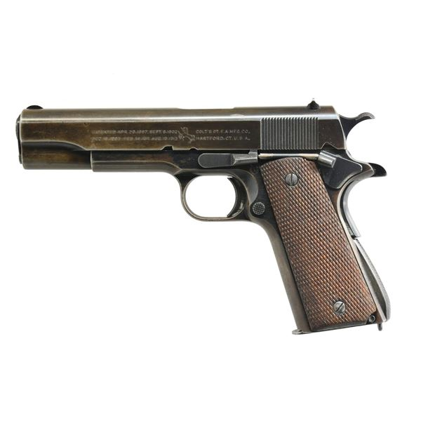 COLT TRANSITIONAL MODEL 1911 A1 SEMI-AUTO PISTOL.