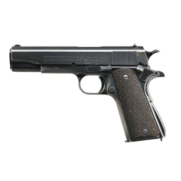 COLT TRANSITIONAL MODEL 1911A1 SEMI-AUTO PISTOL.