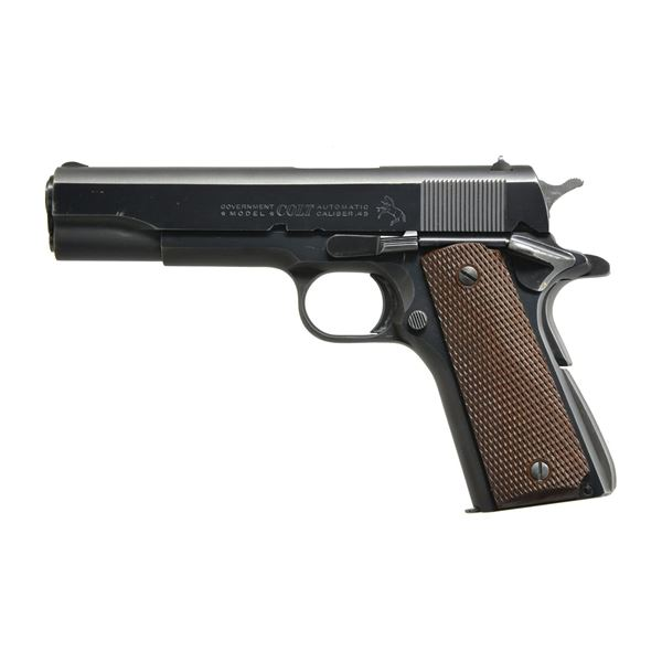 COLT 1911A1 GOVERNMENT MODEL SEMI AUTO PISTOL.
