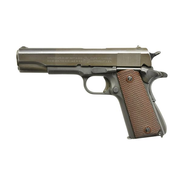 1943 PRODUCTION MODEL 1911-A1 U.S.ARMY COLT 45.