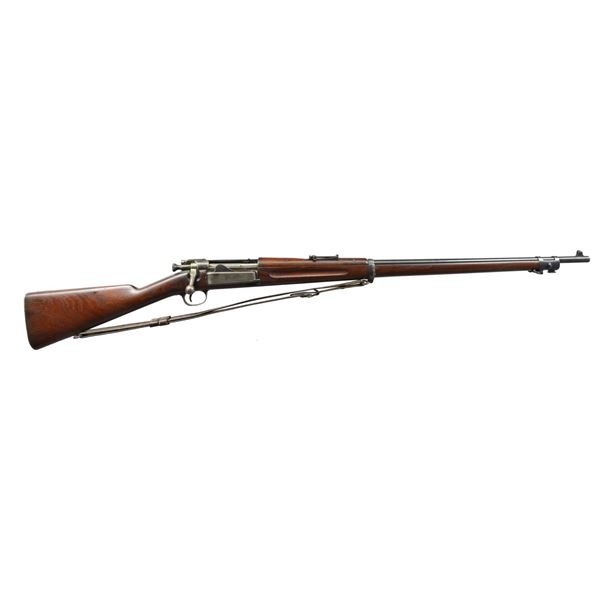 SPRINGFIELD US 1894 DATED KRAG BOLT ACTION RIFLE.