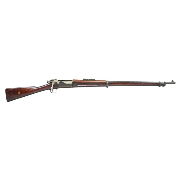 U.S. SPRINGFIELD KRAG BOLT ACTION RIFLE.