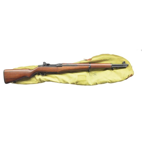 FINELY RESTORED WWII M1 GARAND RIFLE.