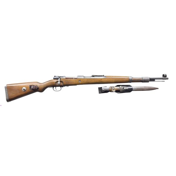 WWII MAUSER (BYF) 43 DATE BOLT ACTION RIFLE.