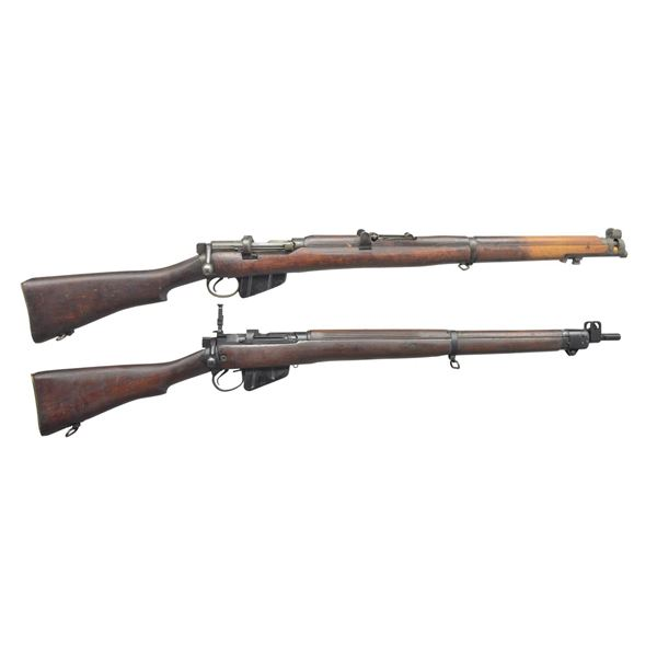 LITHGOW SMLE III & ENFIELD NO. 4 MARK I WORLD WAR