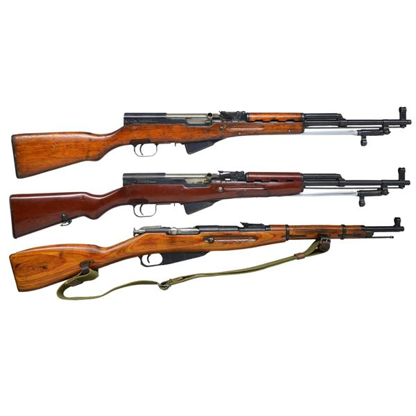3 MILITARY CARBINES.