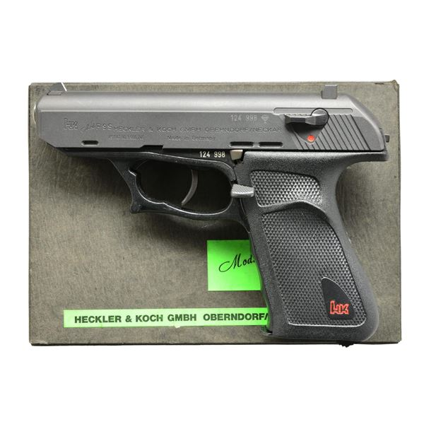 HECKLER & KOCH P9S IN 9MM LUGER WITH BOX AND SPARE