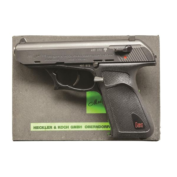 H&K P9S SEMIAUTOMATIC PISTOL WITH BOX & EXTRA MAG.