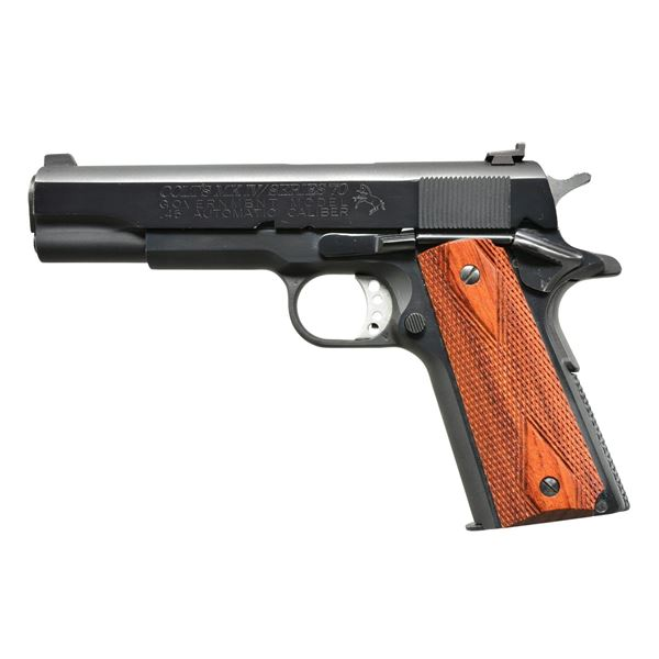 COLT MKIV SERIES 70 GOVERNMENT MODEL 1911 PISTOL.