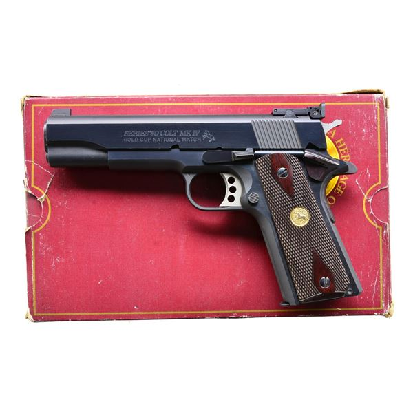 COLT MARK IV GOLD CUP NATIONAL MATCH SERIES 80
