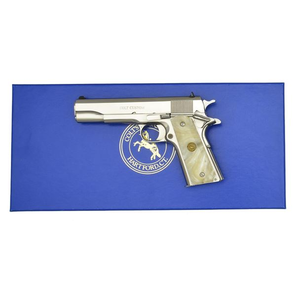 """COLT MODEL O CUSTOM GOVERNMENT 38 """"100 YEARS OF"""