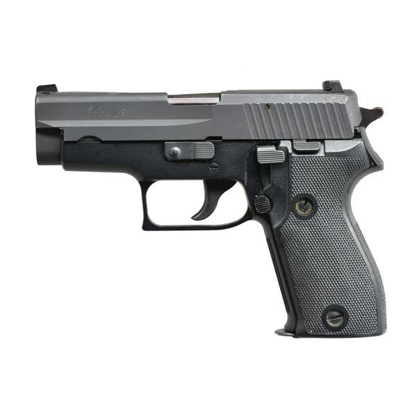 SIG P225 SINGLE STACK 9 MM PISTOL.