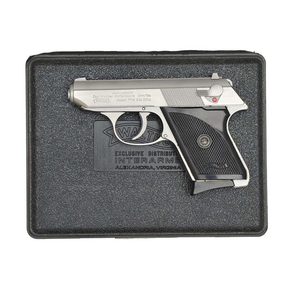 WALTHER TPH STAINLESS STEEL SEMI-AUTO PISTOL.