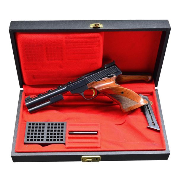 BROWNING MEDALIST TARGET PISTOL WITH CASE.