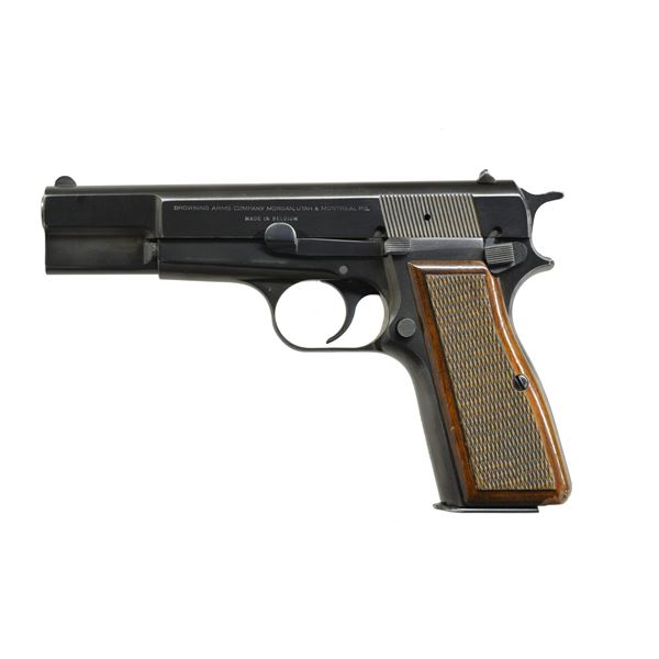 1972 PRODUCTION BROWNING HI POWER PISTOL.