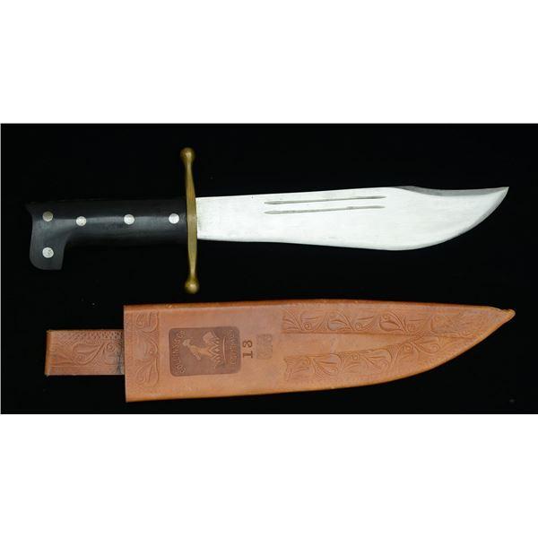 RARE UNISSUED COLLINS V44 SURVIVAL KNIFE.