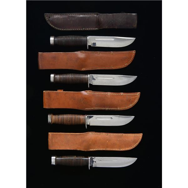 4 US FIGHTING KNIVES.