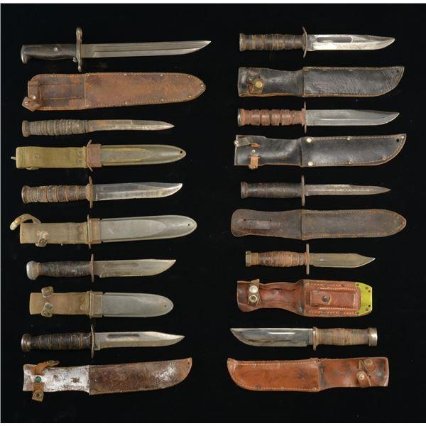 US FIGHTING KNIVES, GRENADES, GRENADE